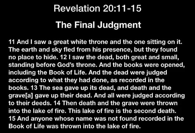 Revelation20.11-15